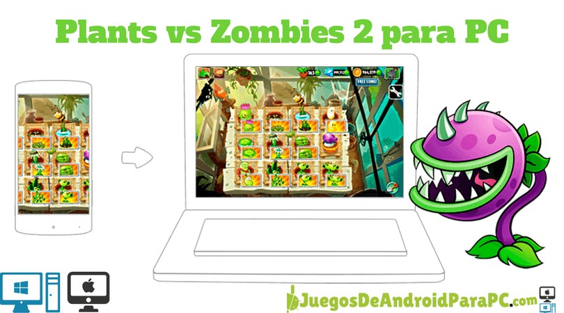descargar plants vs zombies 2 para pc