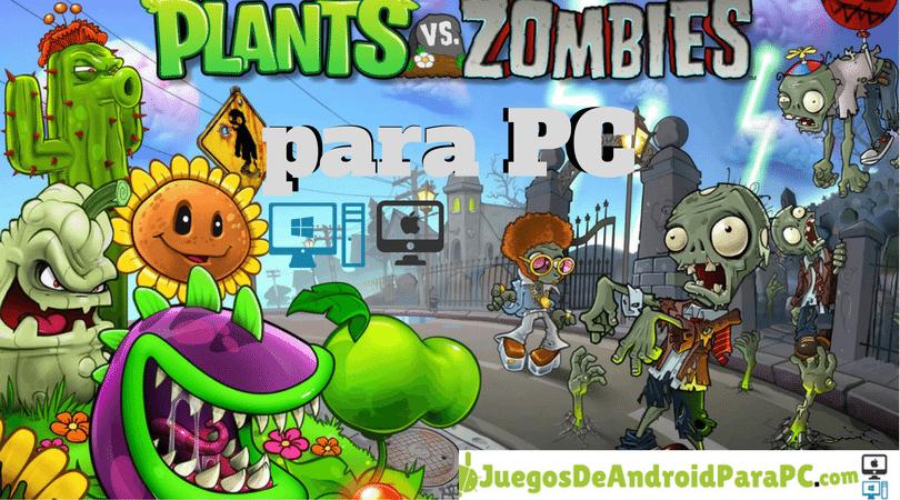 descargar plants vs zombies para pc