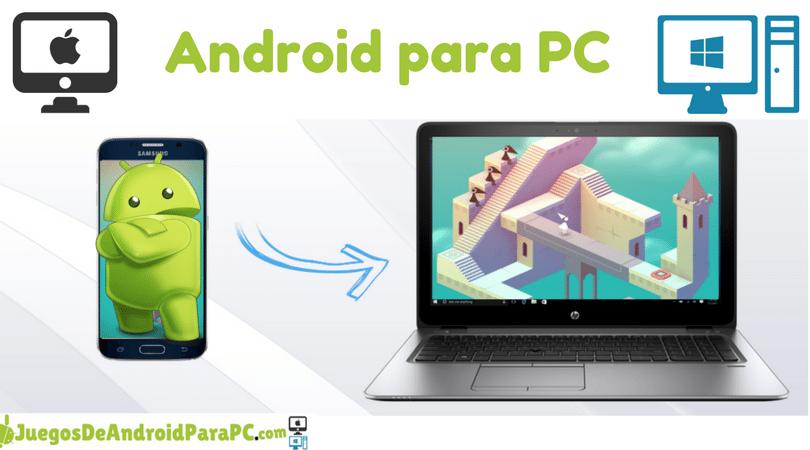 Descargar emulador de Android para PC