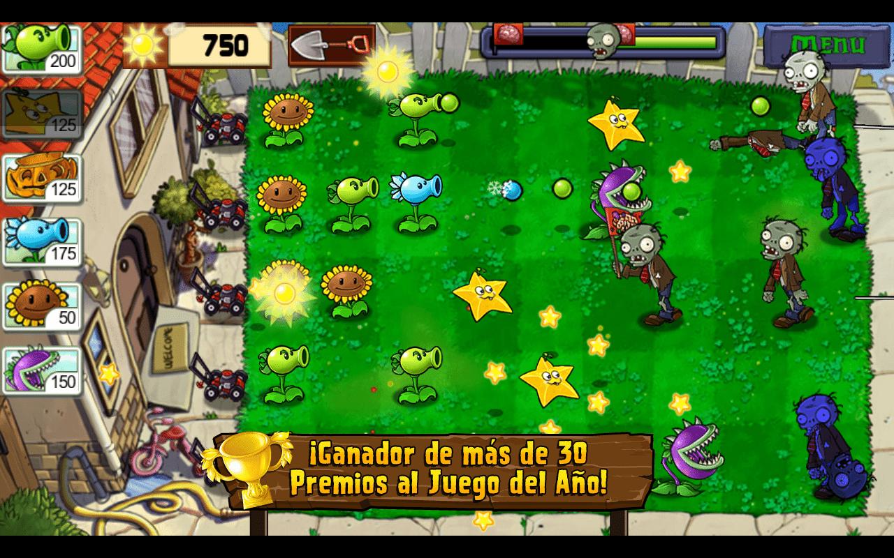 Descargar Plants vs Zombies para PC - GRATIS