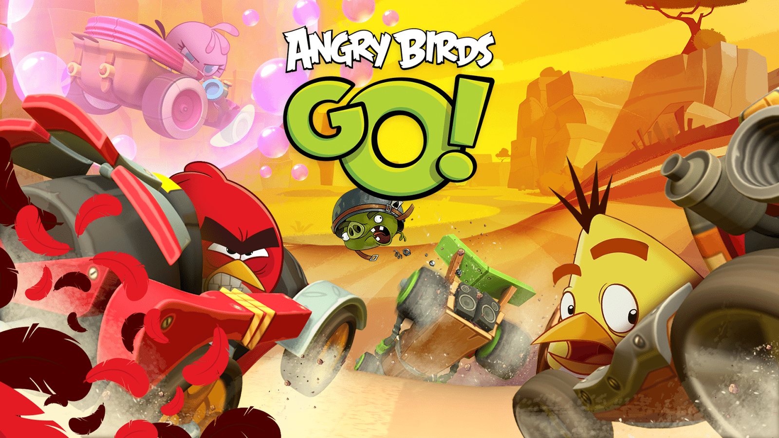 Angry Birds Go! 2.9.1 - Descargar para Android APK Gratis