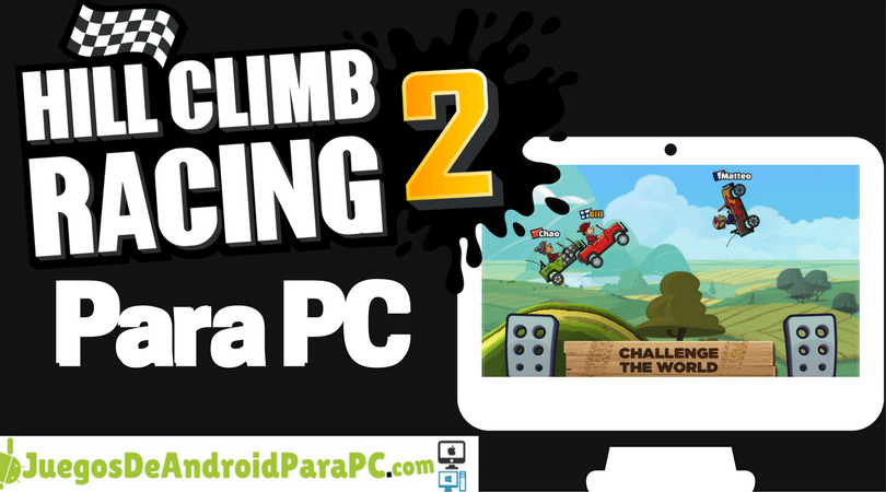 como jugar hill climb racing 2 para pc