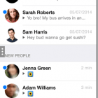 Kik app mensajes