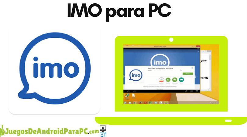 Como descargar IMO para PC o LapTop