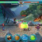batalla Hustle Castle Castillo Mágico contra dragon